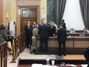 Brucchi chiede la sospensione